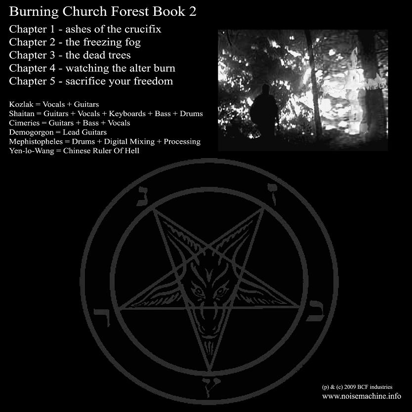 Burning Church Forest – Book 2 | Finsternis